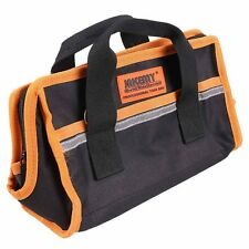 High Quality Black & Orange Portable Tool Bag Practical Canvas Tools Storage Bag