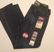 Wrangler Jeans Mens  29 x 30 Slim Straight Dark Wash Stretch Cotton Flex  NWT