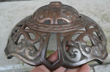 New listing Brass Look Cast Iron Victorian Floor Lamp Base Ornate Scroll Leaf Antique 919