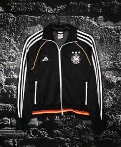 Germany Team Training Jacket With Zipped Black Adidas 646780 Woman Size L