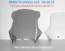 r1200gs Parabrezza Cupolino Alto Deflettore Windshield Plus Windscreen grigio