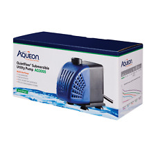 Aqueon QuietFlow Submersible Utility Pump - AQ3000 - NEW up to 530 gph