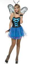 Butterfly Blues Costume for Women size M Butterfly Fairy New by Charades 02935