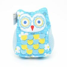 Cute Blue Owl Weighted Door Stopper Fabric Doorstop Heavy Home Decor Gift