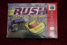 San Francisco Rush Extreme Racing N64 Nintendo 64 Complete CIB Free Shipping