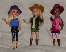McDonalds Liv Spin Master Alexis Doll with hat 2011 Hayden Cowgirl Sophie Purple