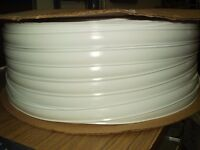 50' FT White Vinyl Trim Insert Replacement Trailer Camper RV Motor home Outdoor
