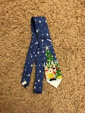 Taylor And Wright Christmas Xmas Santa Reindeer Tie Gift