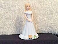 ENESCO Growing Up Birthday Girl Figurine Age 10 Blonde Hair
