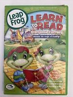 LeapFrog: Learn to Read at the Storybook Factory (DVD, 2011)