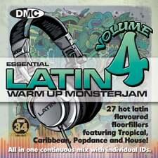 DMC Warm Up Latin Monsterjam Volume 4 Ivan Santana Megamix Continuous Mix DJ CD