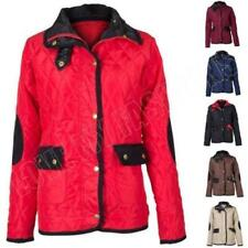 Regular Size Quilted Coats & Jackets Hood for Women