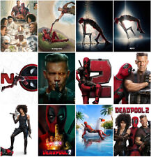 12 Deadpool 2 Movie 2018 Mirror Surface Postcard Promo Poster Card A