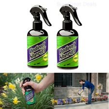 Rodent Sheriff - Get Rid of Rats and Mice Easily - Set of 2 Spray Bottles - New