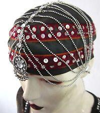 Tribal Boho Gypsy Festival Charm Chain Headpiece Tikka Vintage Fashion Jewelry