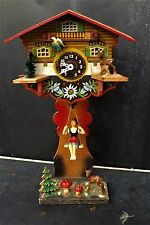 Black  Forest Novelty Clock very hypnotic