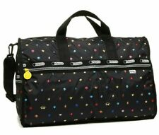 Lesportsac JP Limited MR MEN LITTLE MISS Happy Land Weekender Duffel Bag Tote L