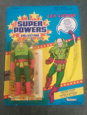 Super Powers Collection     Lex Luthor  unpunched  in Blister on card MOC Kenner