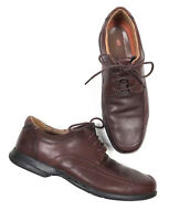 Clarks Unstructured 8 1/2 Un.ravel Leather Oxford Shoes Brown Leather Men's