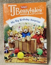 Playskool T.J. Bearytales MY BIG BIRTHDAY SURPRISE Book Replacement VGC