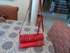 Marc By Marc Jacobs Red Leather Medium Shoulder Bag