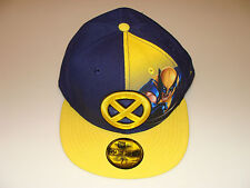 Wolverine New Era Cap Hat Fitted 7 1/2 Panel Sub Dual Logo DC Comics 59Fifty