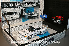 Slot car SCX Scalextric Fly 96059 E-685 Art car BMW CSL Turbo 24h. Le Mans 1976
