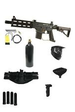 Tippmann PROJECT SALVO CQB Sniper Paintball Gun Pack W/Folding Front Grip NEW