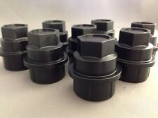 8 NEW BLACK Lug Nut COVERS CAP CHEVY GMC SILVERADO 1500 2500 FULL SIZE TRUCK VAN