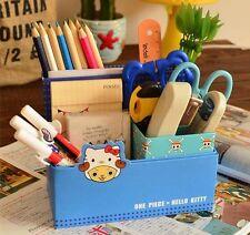1 pc ONE PIECE Chopper×KT Pen Holder Storage Box Desk Organizer for stationery