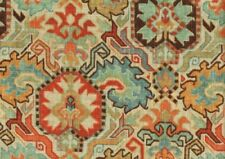 2 Yds Richloom Fabric Tribal Natural Drapery Upholstery