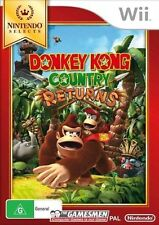Donkey Kong Country Returns Nintendo Wii Original Aus PAL