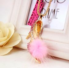 Pendant Jewelry Betsey Johnson  Rhinestone Women High heels Enamel Necklaces