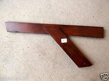 n° 8 ) old tool, outil ancien, fausse équerre en bois de menuisier , ébéniste