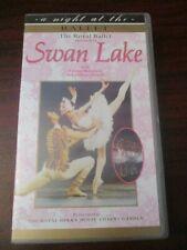 A Night at the Opera Royal Ballet Swan Lake  VHS Video Tape (NEW)