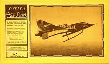Collect-Air Models 1/48, High Grade X/Yf2Y-1 Sea Dart, Resin/Metal