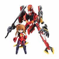 EVA desktop Army Asuka Langley & Evangelion 02 figure MEGAHOUSE Anime JAPAN 2021