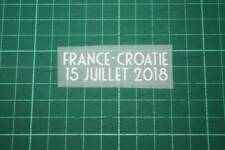 FRANCE World Cup 2018 Home Shirt Match Details FRANCE Vs CROATIE