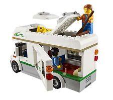 Lego City Town 60057 CAMPER VAN Canoe oars life vest coffee outdoor NISB Gift