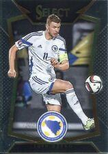 Panini Select Soccer 2015 Base Card #43 Edin Dzeko - Bosnia-Herzegovina