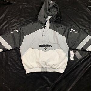 NFL Oakland Raiders Las Vegas Pullover Vintage Rare Jacket NFL Size Small New