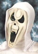 Childrens White Ghost Scream Mask Monster Halloween Fancy Dress