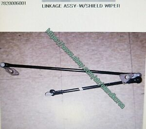 Genuine Part W/Shield Wiper Linkage for Ssangyong KORANDO LHD Only  7820006001