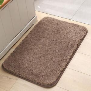 Mircrofiber Bath Mat Super Absorbent Bathroom Carpets Rugs Bathtub Floor Mat NEW