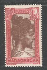 Madagascar 1944,Chief 1.50fr Red & Brown,Scott 165A,VF MNH**OG (K-8)