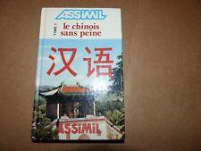 Méthode quotidienne ASSIMIL Le chinois sans peine Tome1
