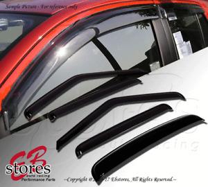 Vent Shade Outside Mount Window Visor Sunroof 5pcs Jaguar XJ6 XJ8 XJ12 97-03