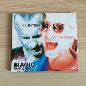Biagio Antonacci _ Anima Intima / Anima Rock _ 2 DVD digipak _ 2009 Editoriale