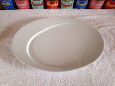 NWT Steelite International Duchesse Oval Plate Sylvia Amar Studio for Pillivuyt