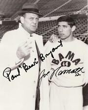 REPRINT - PAUL BEAR BRYANT - JOE NAMATH Alabama Crimson Tide Signed 8x10 Photo